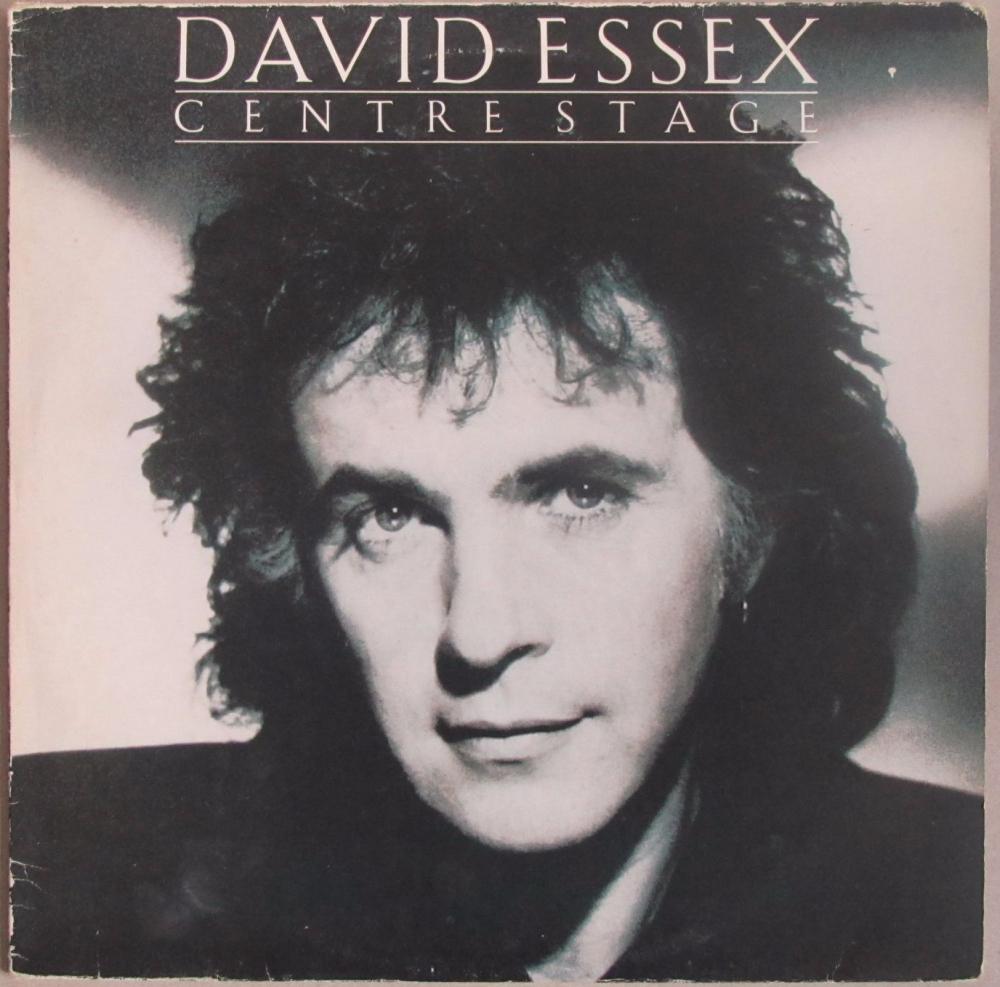 David Essex      Centre Stage        1986 Vinyl LP    Pre-Used
