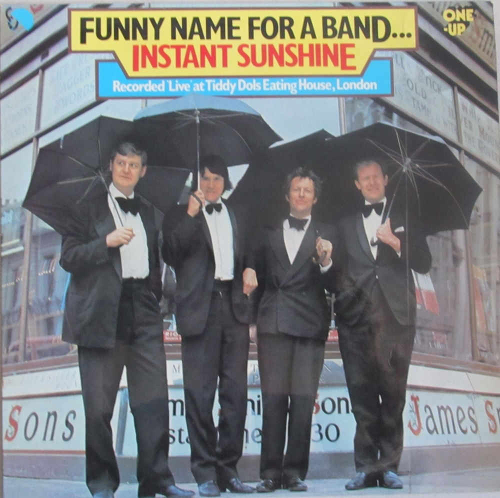 Funny Name For A Band     Instant Sunshine  Live      1977 Vinyl LP Pre-Use