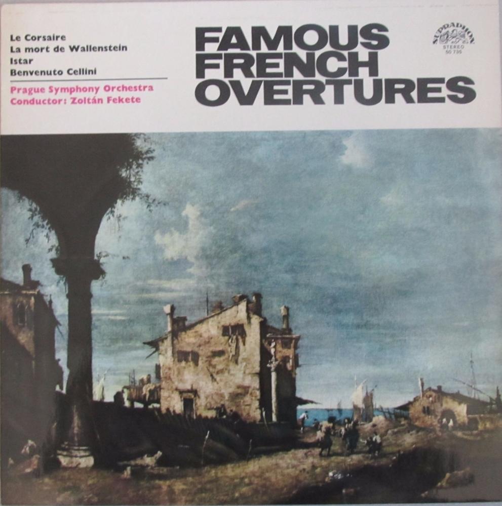 Famous French Overtures  Prague Symphony Orchestra /Zoltan Fekete   Vinyl L
