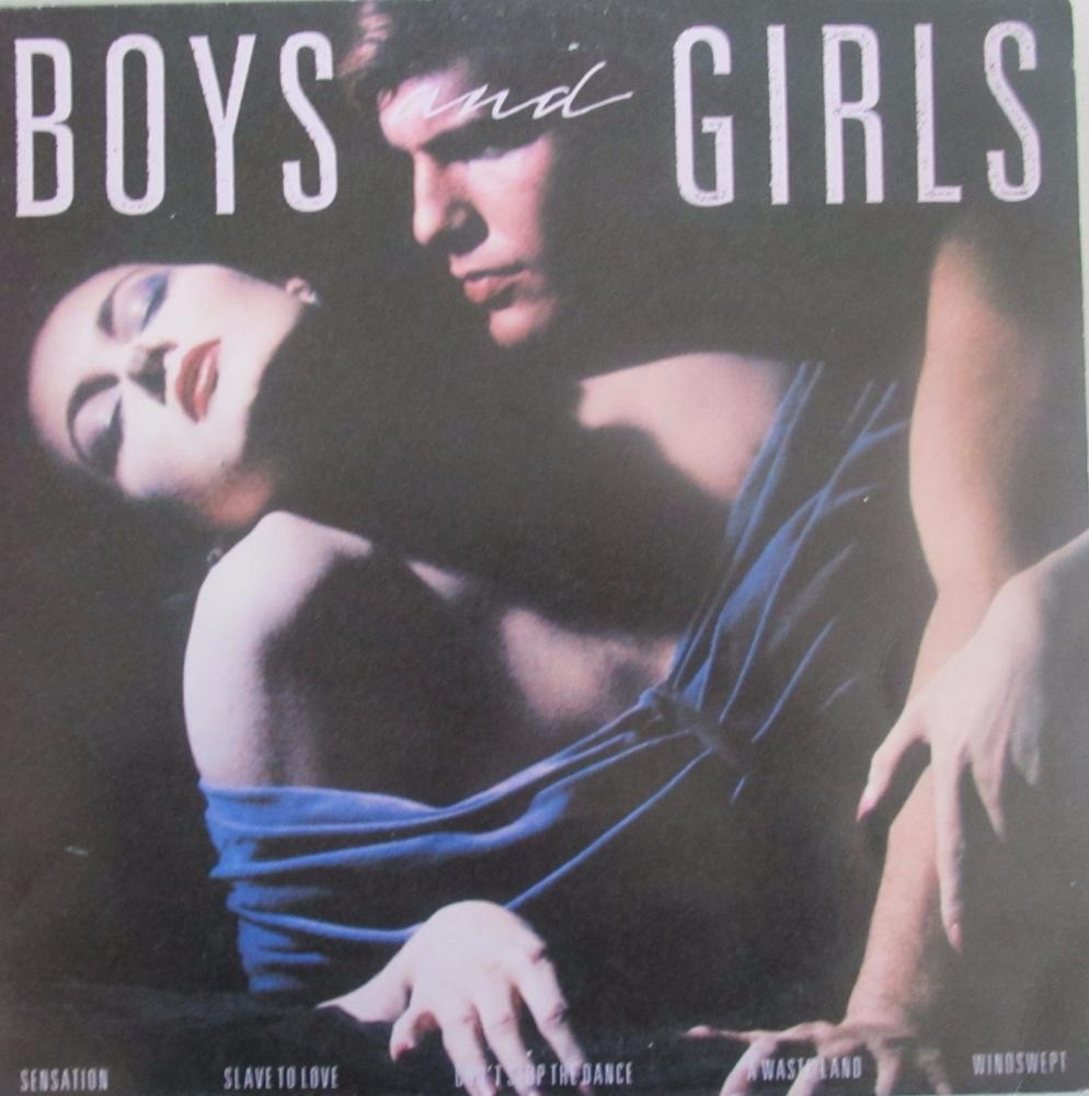 Bryan Ferry       Boys And Girls       1985 Vinyl LP     Pre-Used