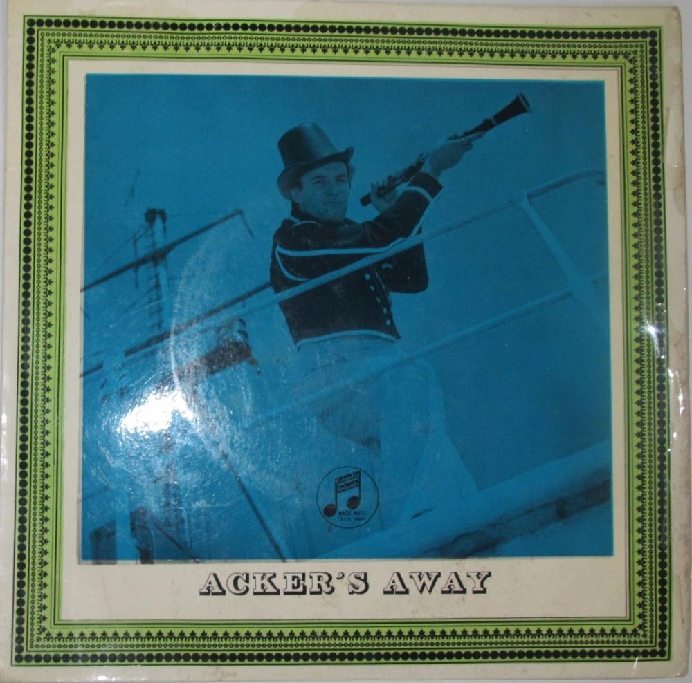 Acker Bilk   And His Paramount Jazz Band     Acker's Away  EP      Vinyl 7