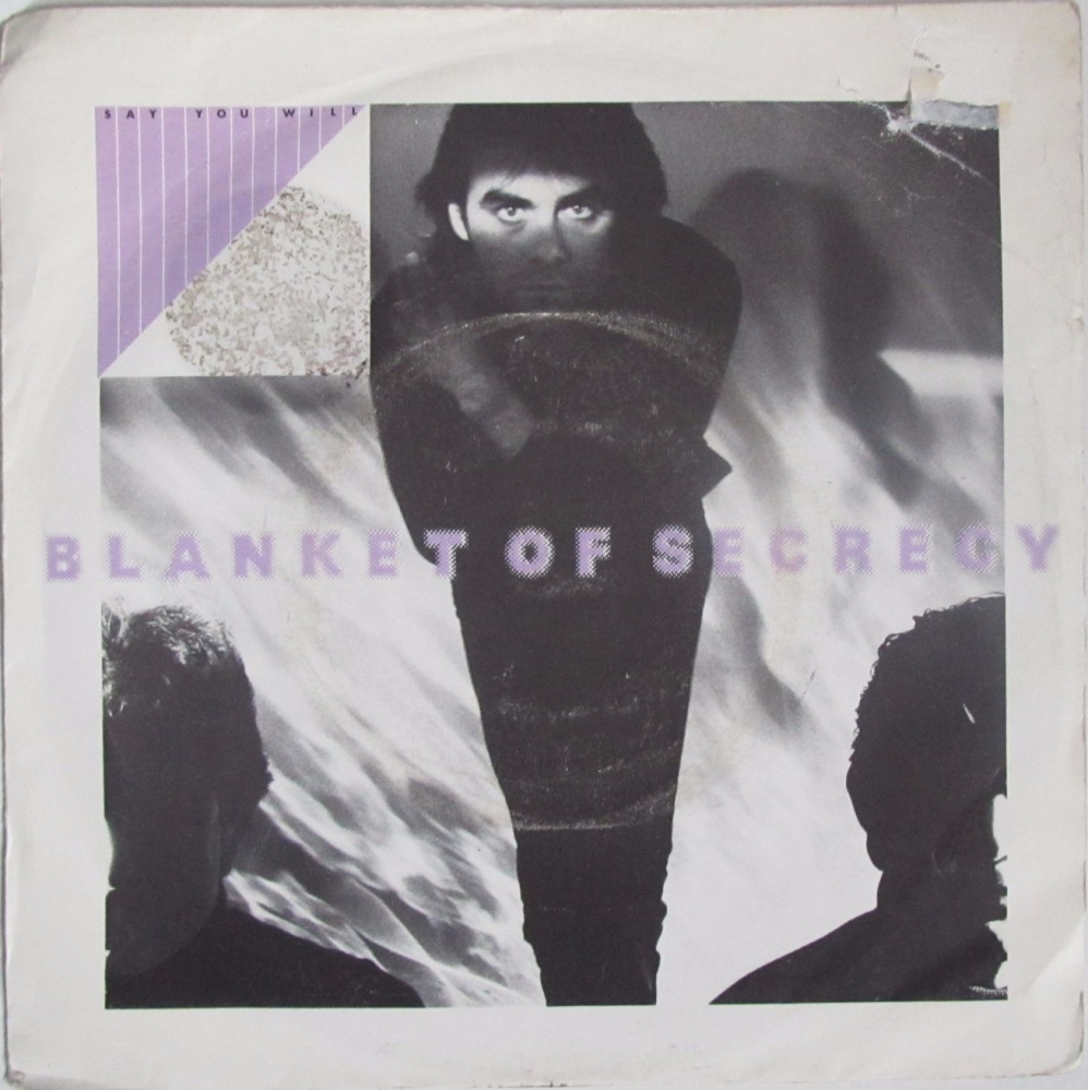 Blanket Of Secrecy    Say You Will       1982 Vinyl 7