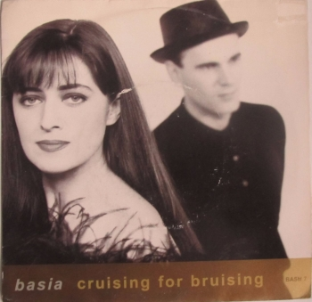 "Basia       Cruising For Bruising      1990 Vinyl 7"" Single     Pre-Used"