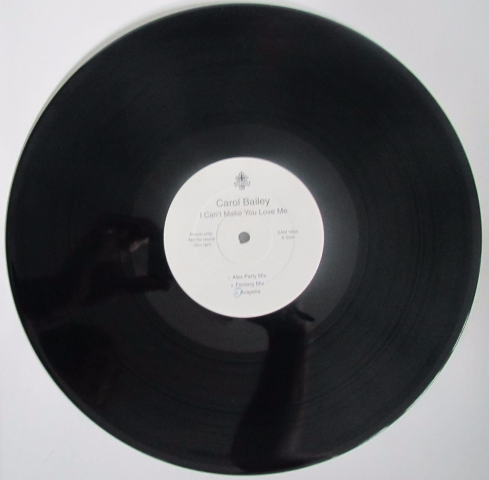 Carol Bailey   I Can't Make You Love Me       Promo  Vinyl 12