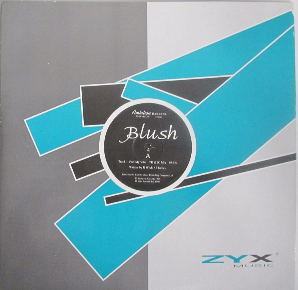 Blush       Feel My Vibe  TK & JC Mix       1998 Vinyl 12