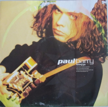 "Paul Barry        Letting Go       1990 Vinyl 12"" Single   Pre-Used"