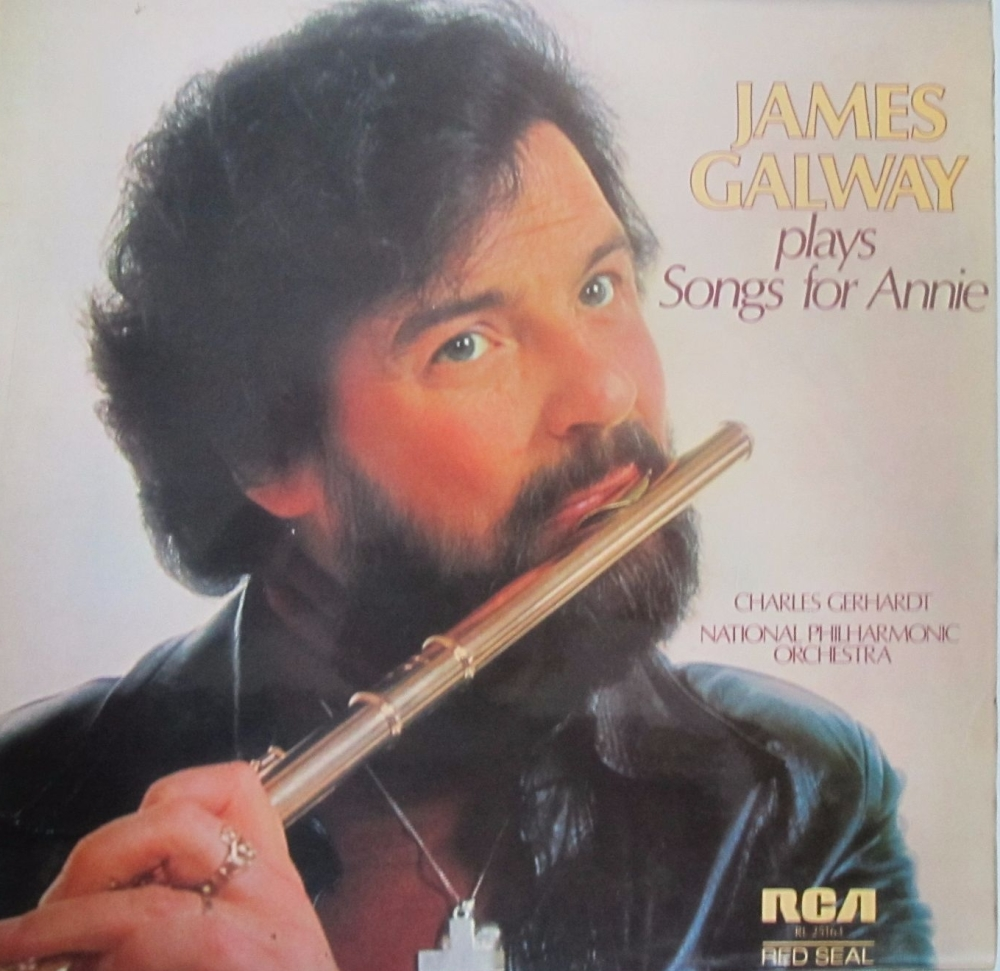 James Galway     Plays Song For Annie       1978 Vinyl LP     Pre-Used