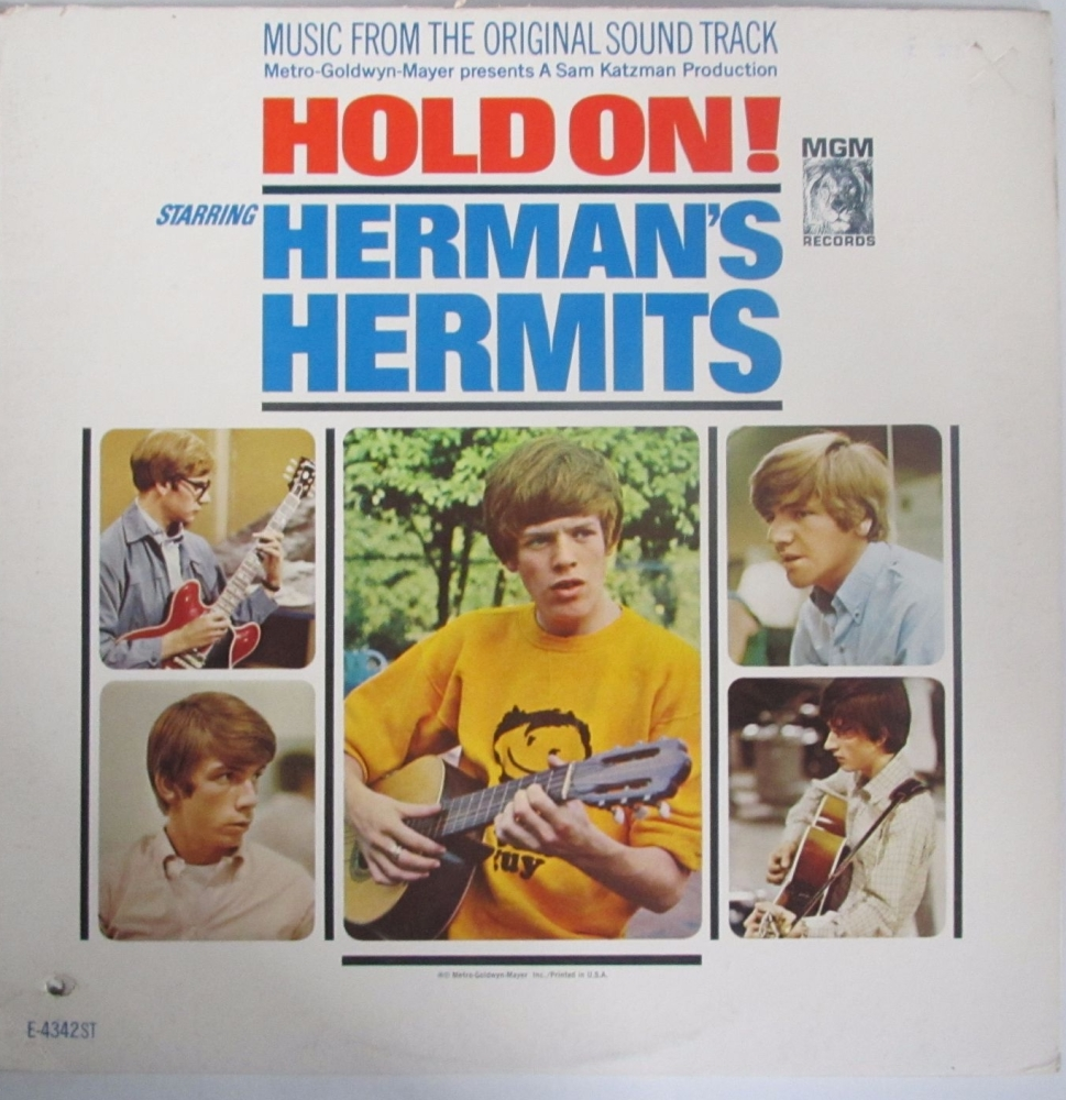 Herman's Hermits    Hold On! Music From The Original Soundtrack   U.S.A. Vi