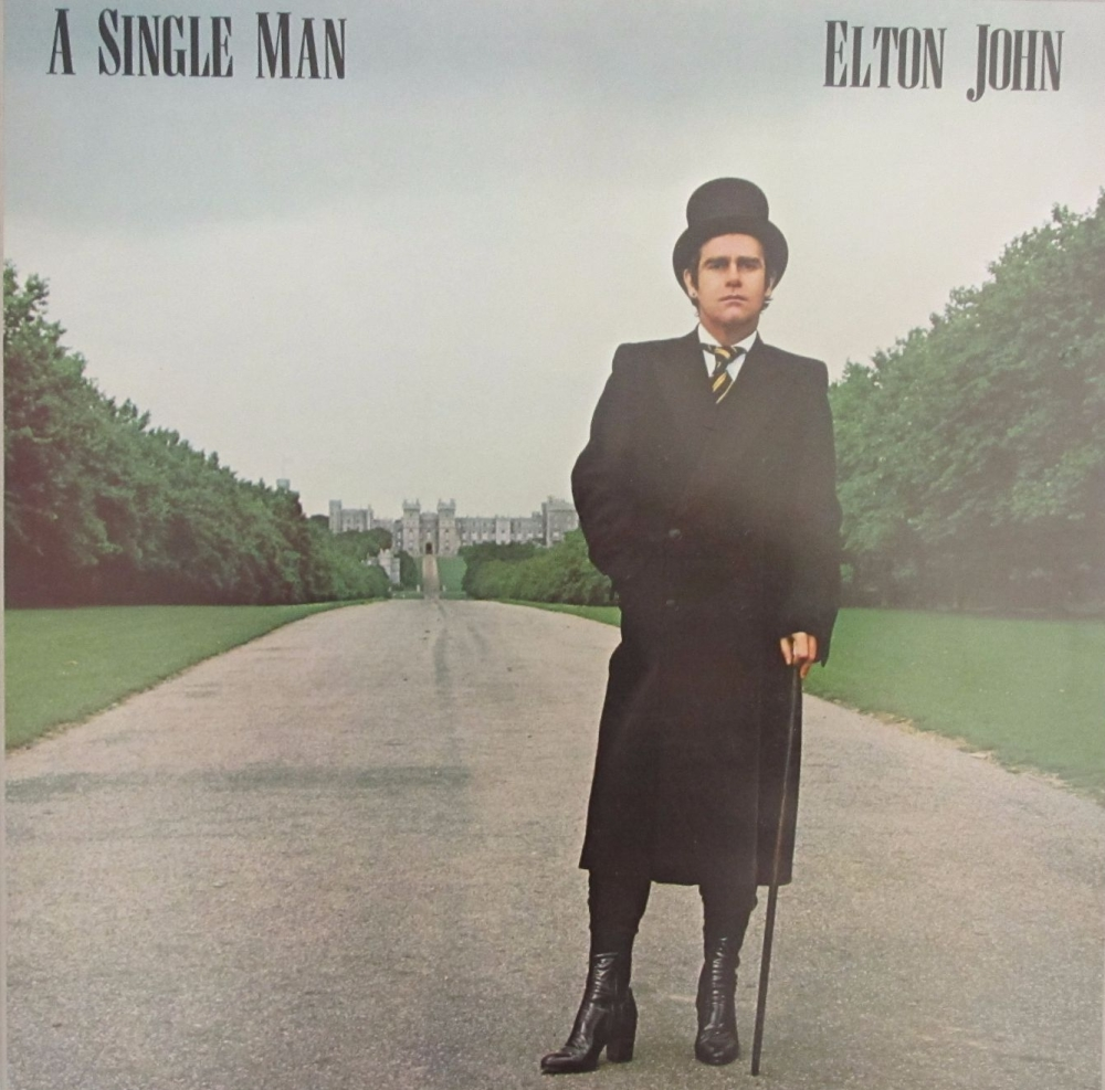 Elton John       A Single Man         1978 Vinyl LP     Pre-Used