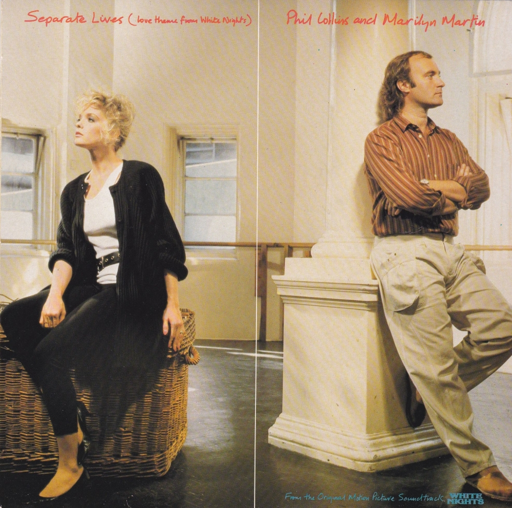 Phil Collins And Marilyn Martin       Separate Lives     1985 Vinyl 7