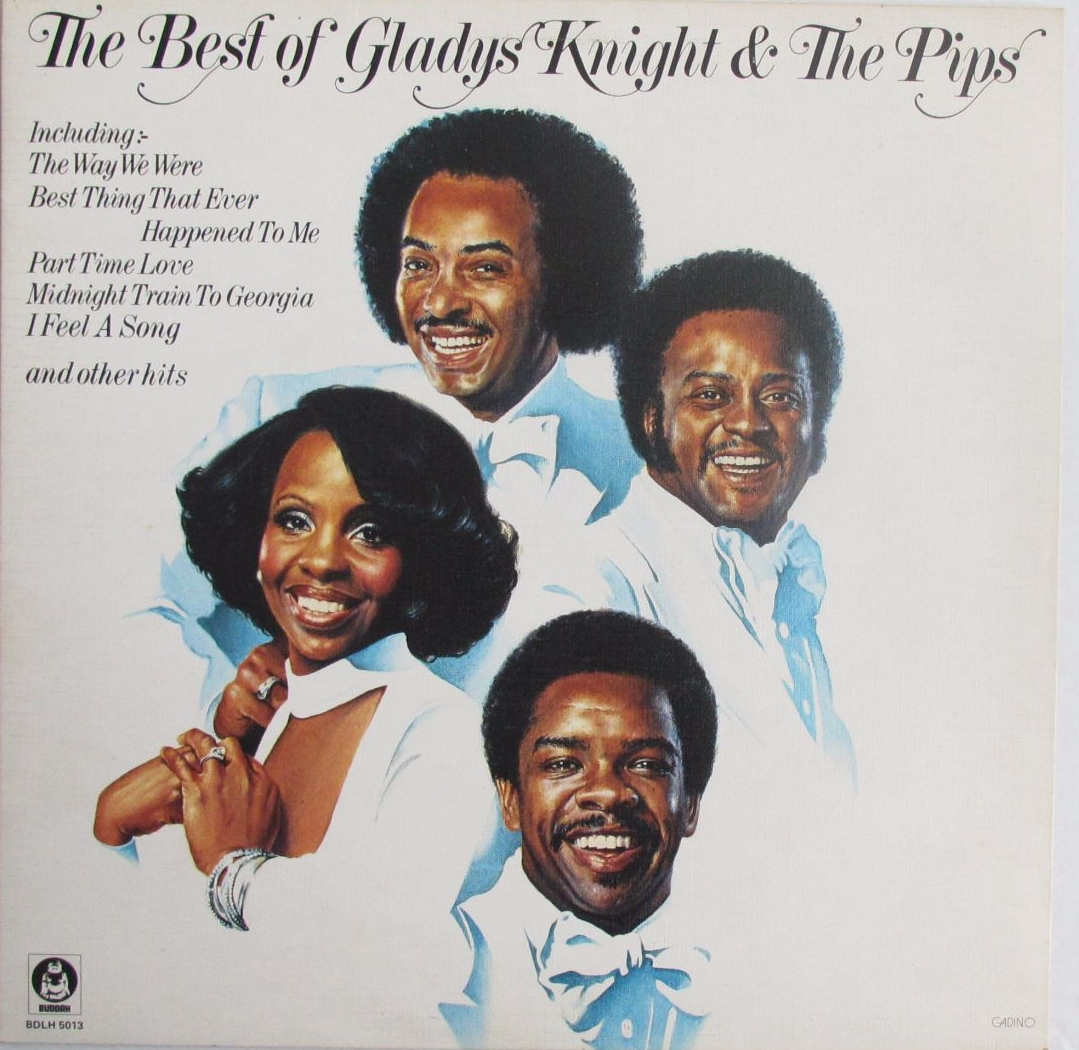 Gladys Knight & The Pips      The Best Of     1976 Vinyl LP      Pre-Used