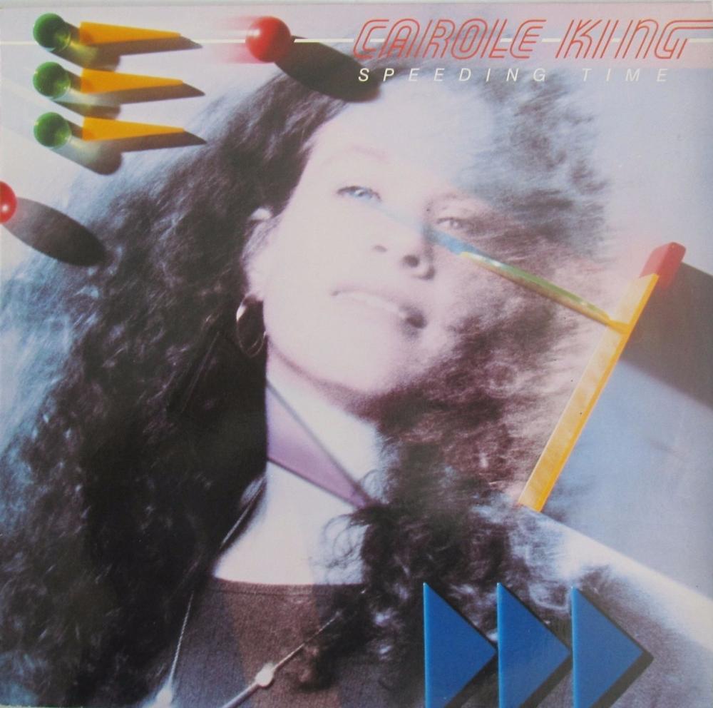 Carole King     Speeding Time    1983 Vinyl LP     Pre-Used