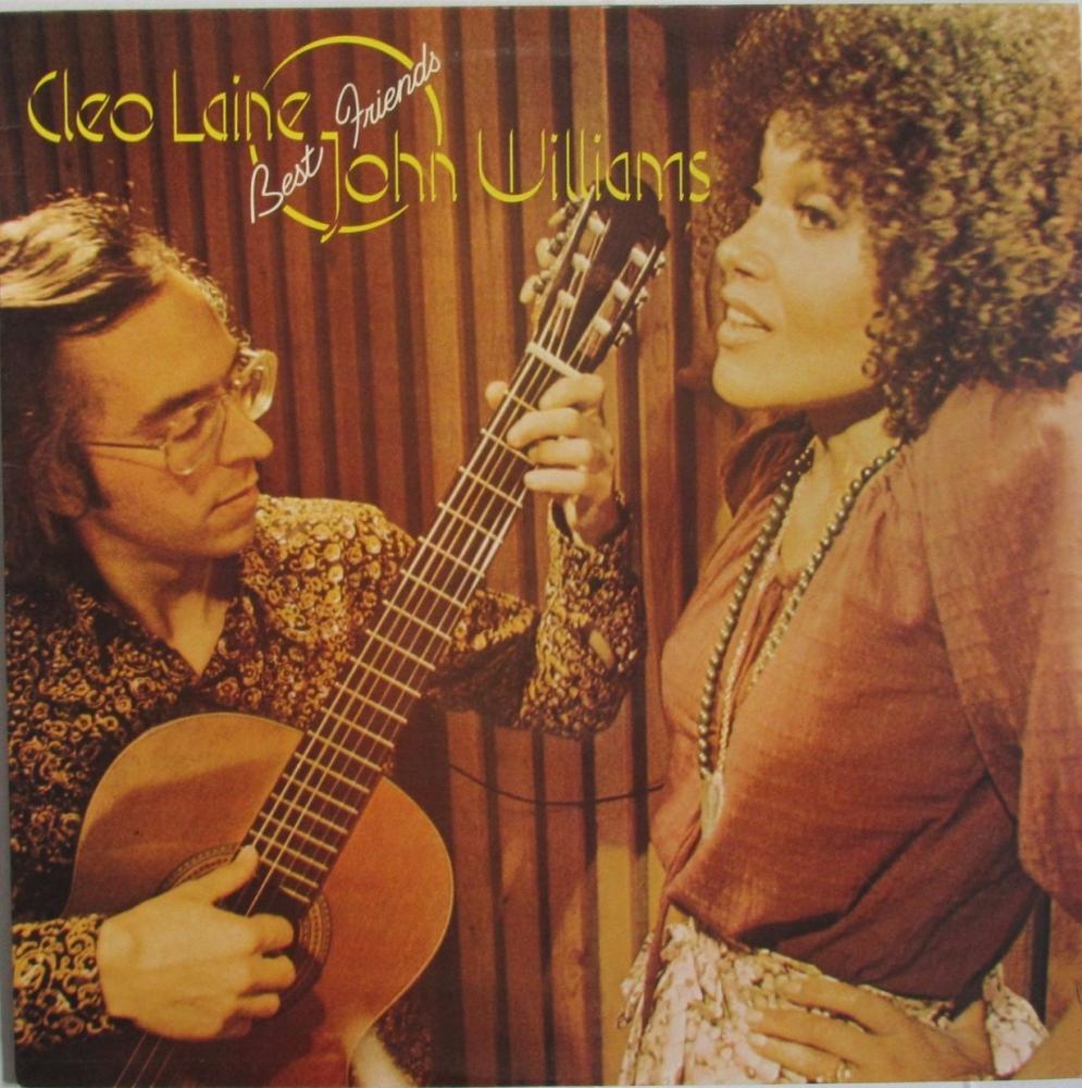 Cleo Laine And John Williams       Best Friends      1976 Vinyl LP    Pre-U