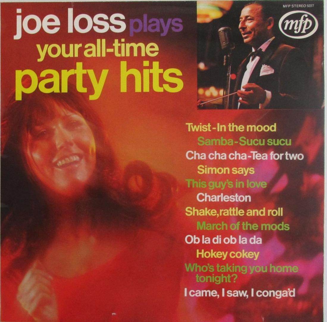 Joe Loss    Plays Your All-Time Party Hits           1971 Vinyl LP    Pre-U