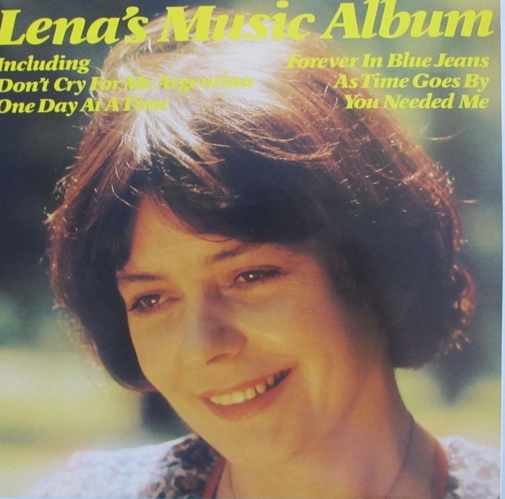 Lena Martell       Lena's Music Album    1979 Vinyl LP   Pre-Used