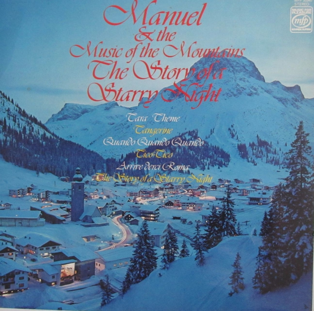 Manuel & The Music Of The Mountains   The Story Of A Starry Night  1977 Vin