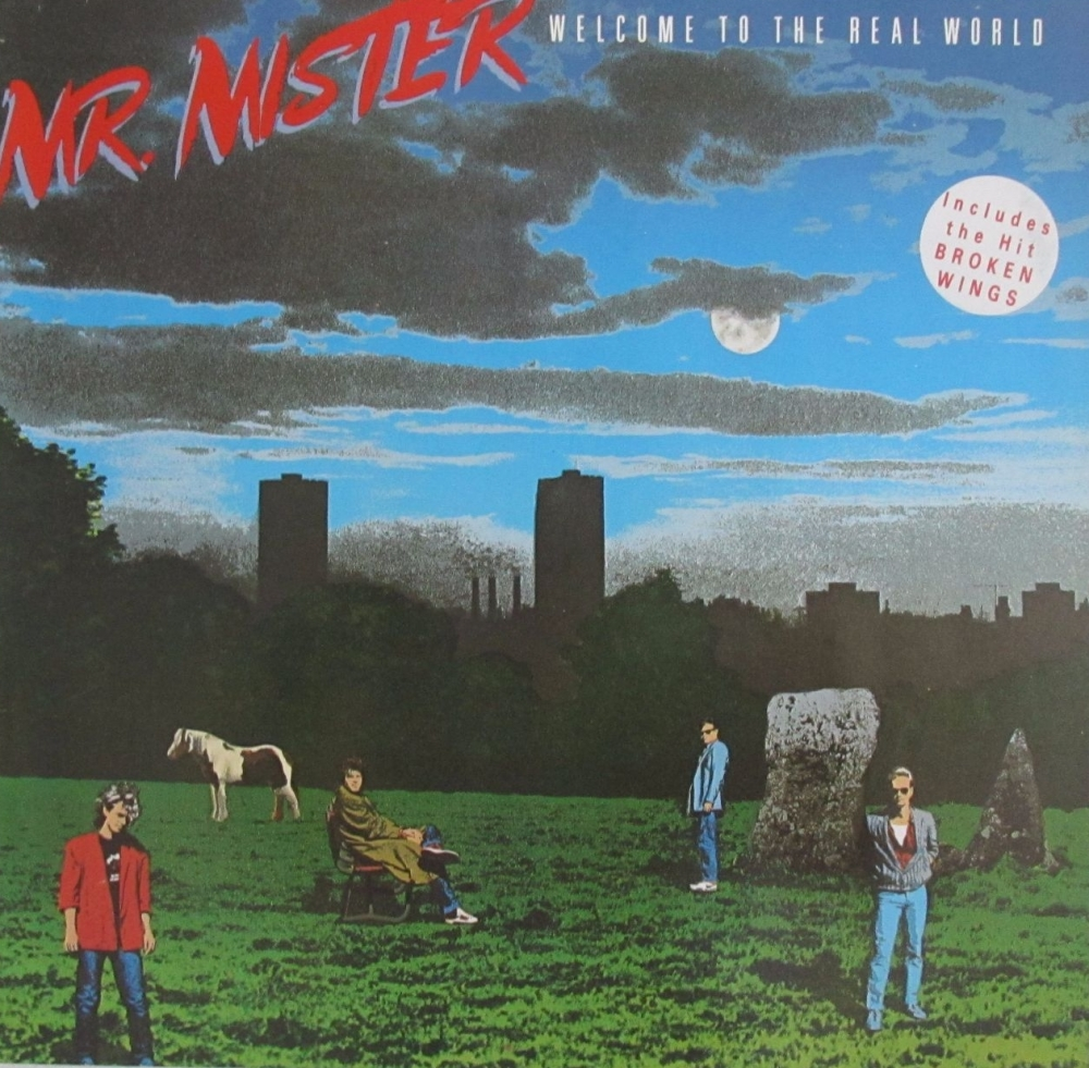 Mr. Mister      Welcome To The Real World    1985  Vinyl LP     Pre-Used