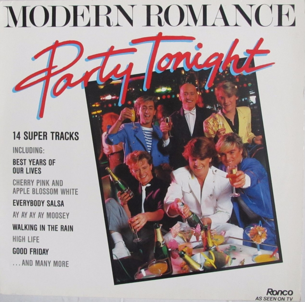 Modern Romance       Party Tonight      1983 Vinyl LP    Pre-Used