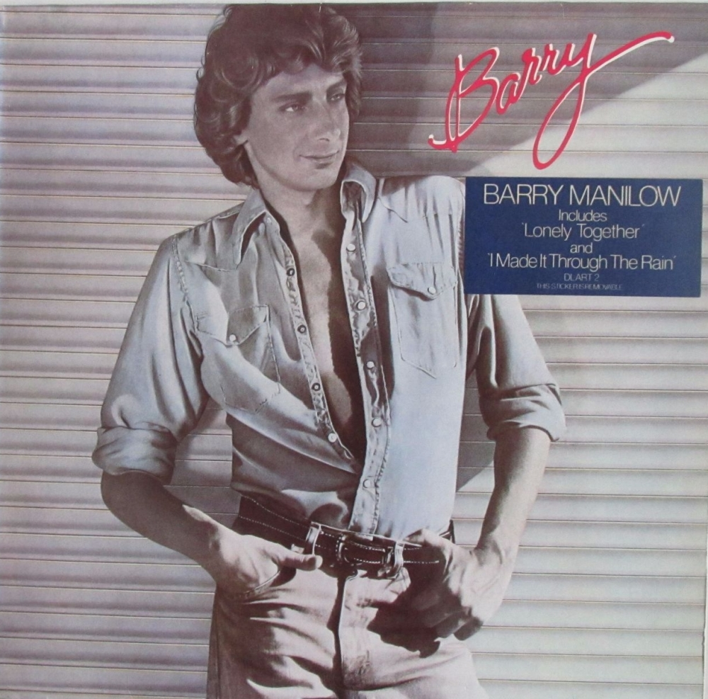 Barry Manilow          Barry         1980 Vinyl LP    Pre-Used