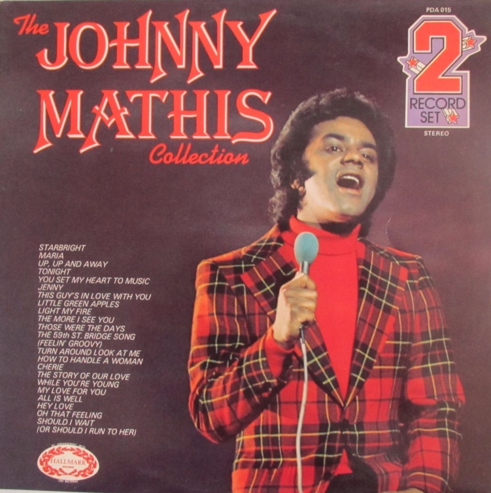 Johnny Mathis     Collection       Double Vinyl LP   Pre-Used