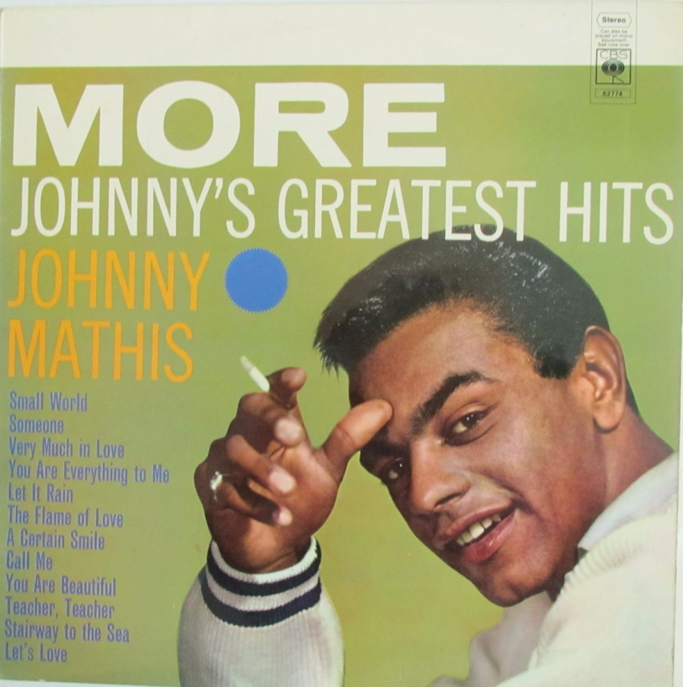 Johnny Mathis    More Johnny' Greatest Hits      1966 Vinyl LP   Pre-Used