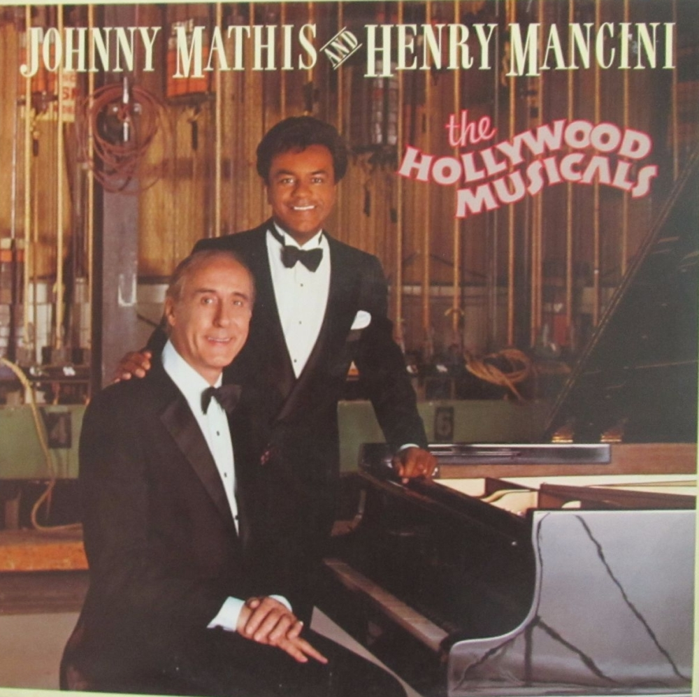 Johnny Mathis And Henry Mancini   The Hollywood Musicals   1986 Vinyl LP