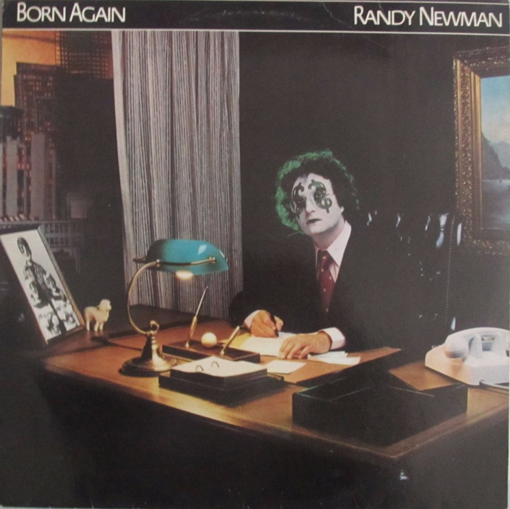 Randy Newman     Born Again       1979 Vinyl LP    Pre-Used