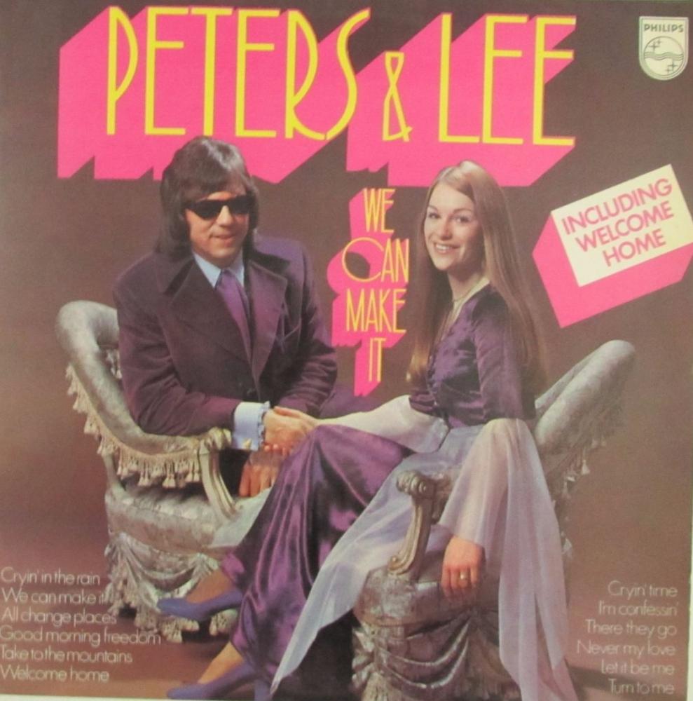Peters & Lee        We Can Make It      1973 Vinyl LP    Pre-Used