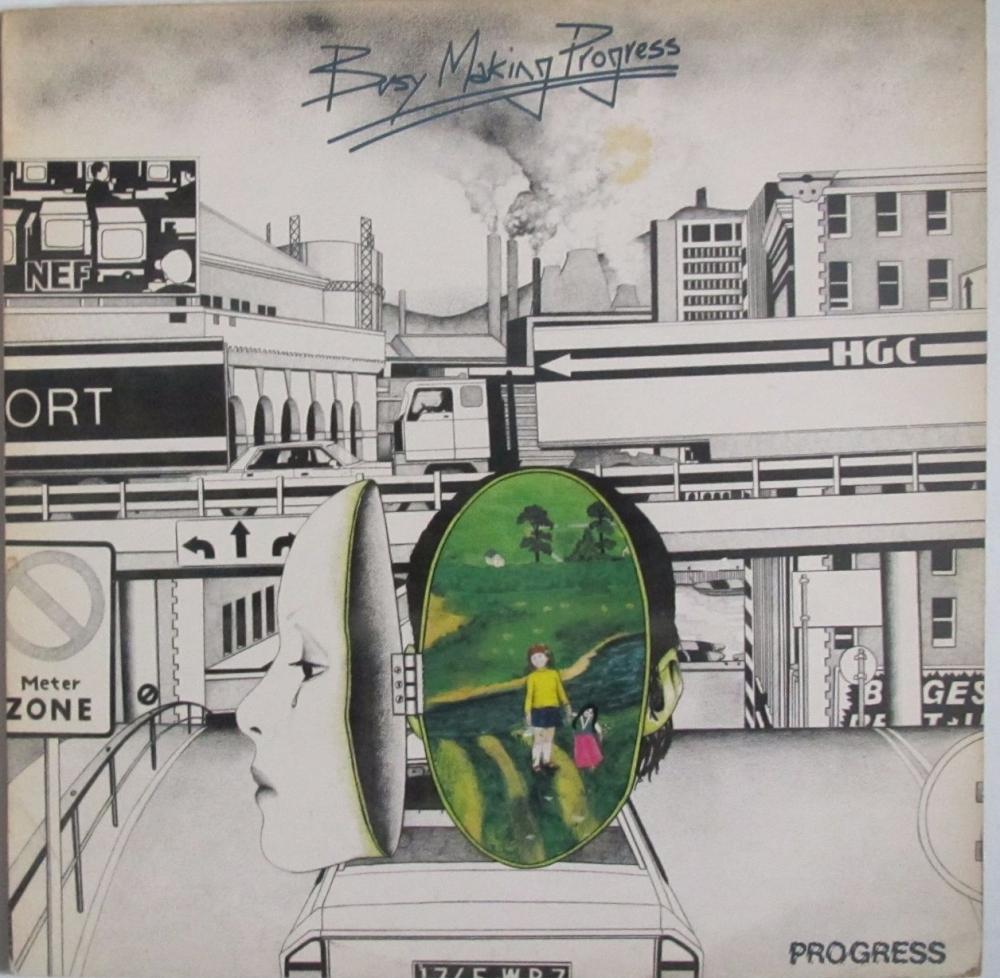 Progress       Busy Making Progress    1978 Vinyl LP    Pre-Used