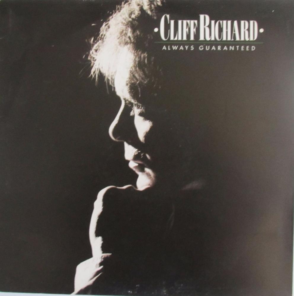 Cliff Richard         Always Guaranteed    1987 Vinyl LP      Pre-Used