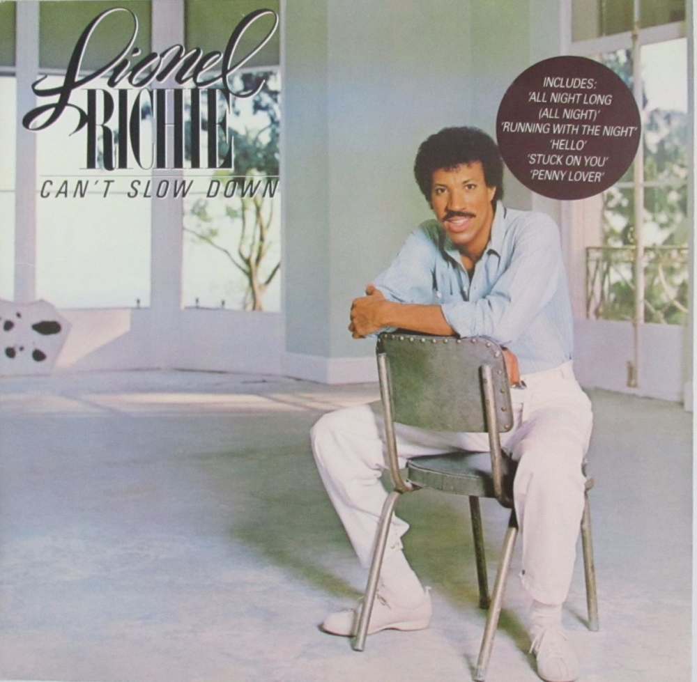 Lionel Richie         Can't Slow Down      1983 Vinyl LP    Pre-Used