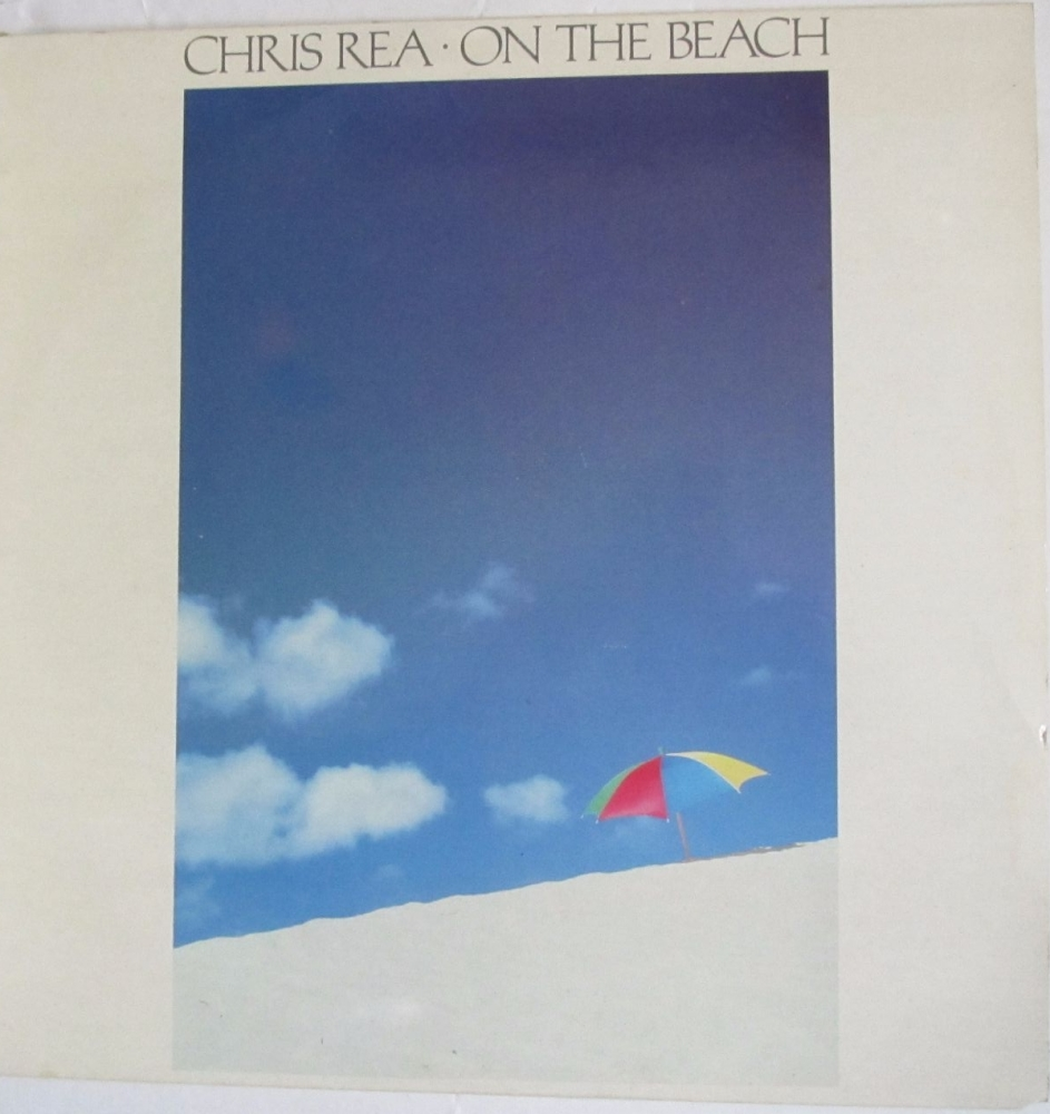 Chris Rea        On The Beach        1986 Vinyl LP    Pre-Used