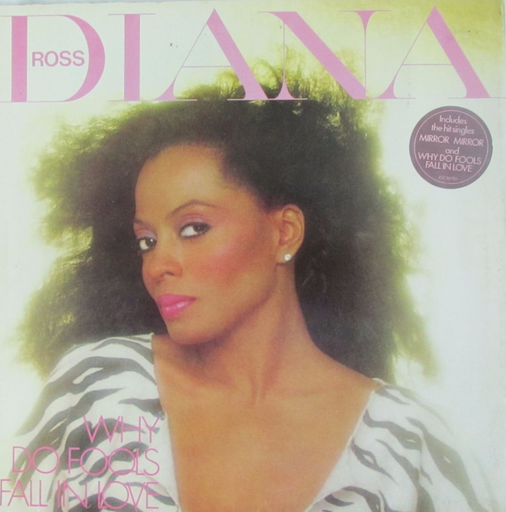 Diana Ross      Why Do Fools Fall In Love    1981 Vinyl LP Pre-Used