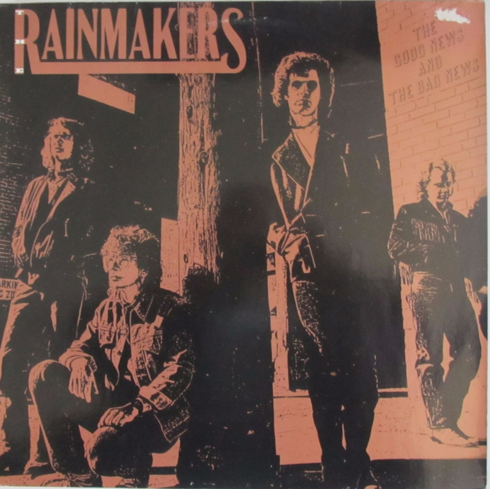 Rainmakers      The Good News And The Bad News  1989 Vinyl LP Pre-Used