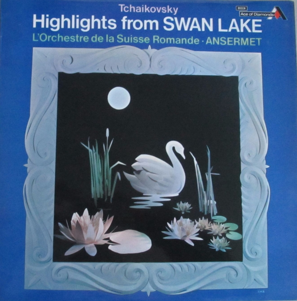 Tchaikovsky    Highlights From Swan Lake  L'Orchestre De La Suisse Romande