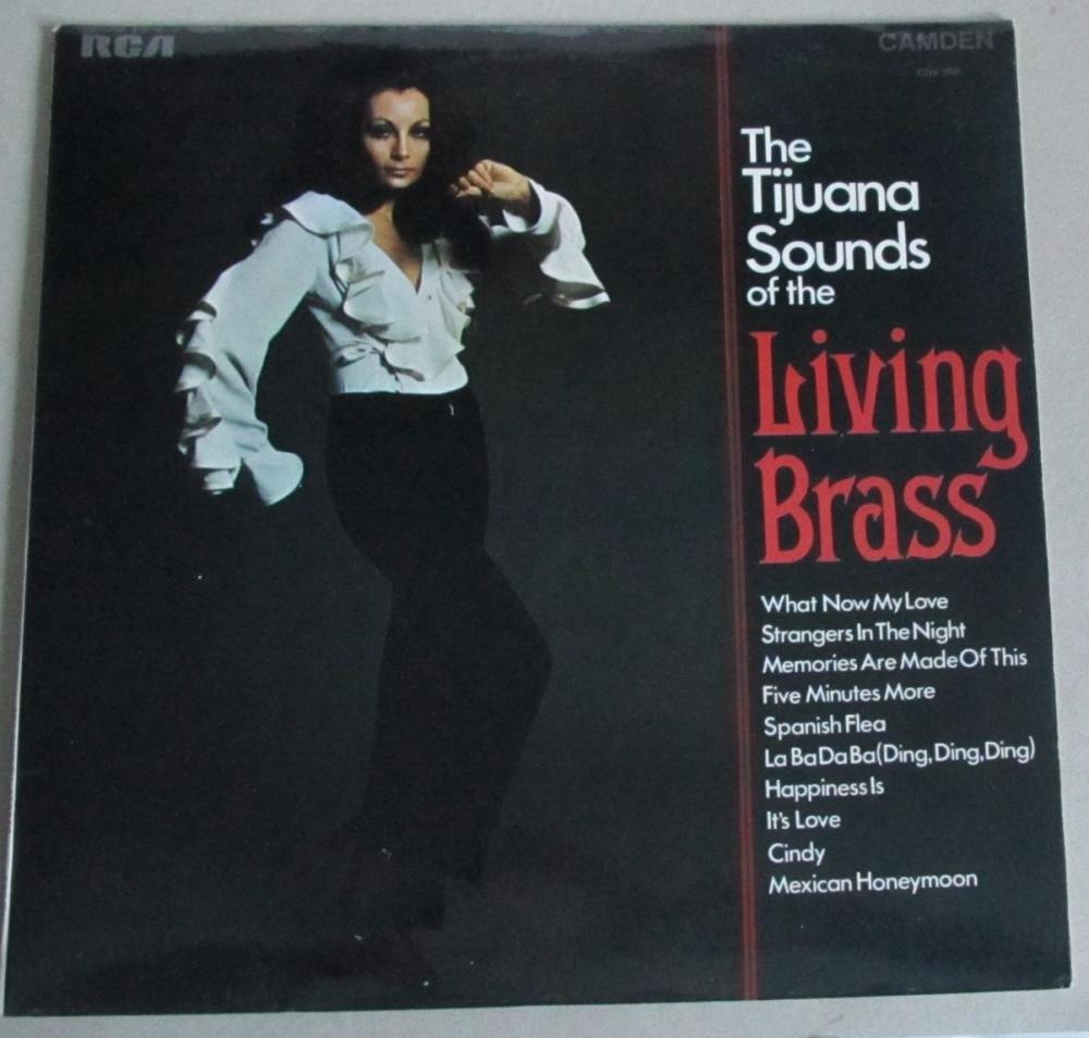 Tijuana Sounds Of The Living Brass    1970 Vinyl LP   Pre-used