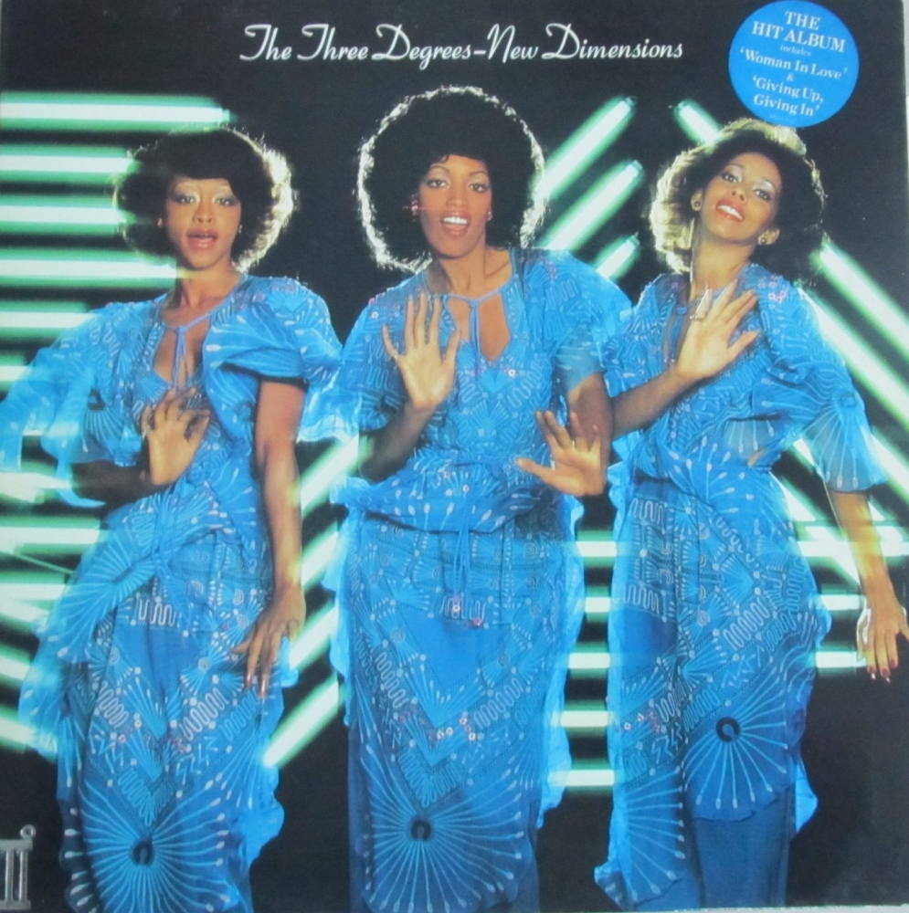 The Three Degrees   New Dimensions      1978 Vinyl LP  Pre-Used