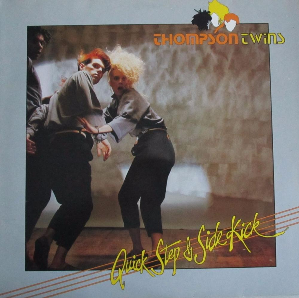 Thompson Twins     Quick Step & Side Kick     1983 Vinyl LP   Pre-Used