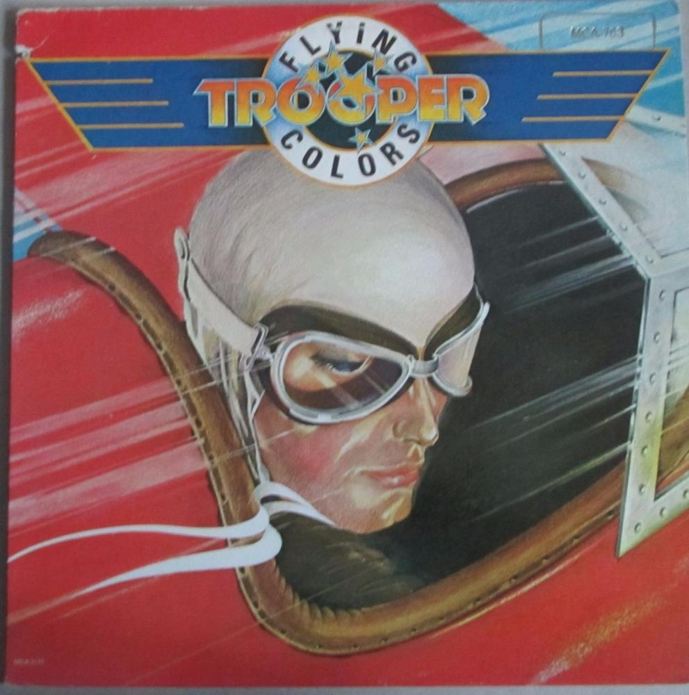 Trooper       Flying Colors      1979 U.S.A. Vinyl LP   Pre-Used
