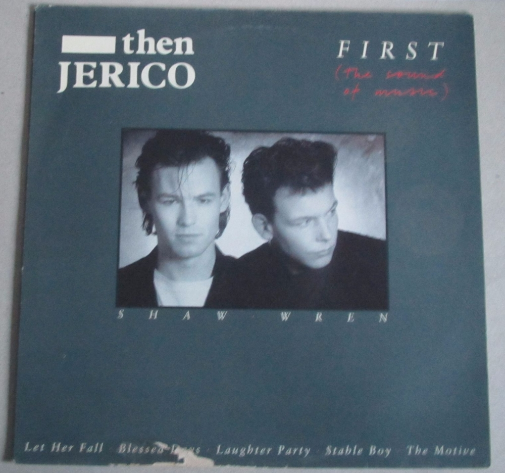 Then Jerico      First     (The Sound Of music)     1986 Vinyl LP + Poster