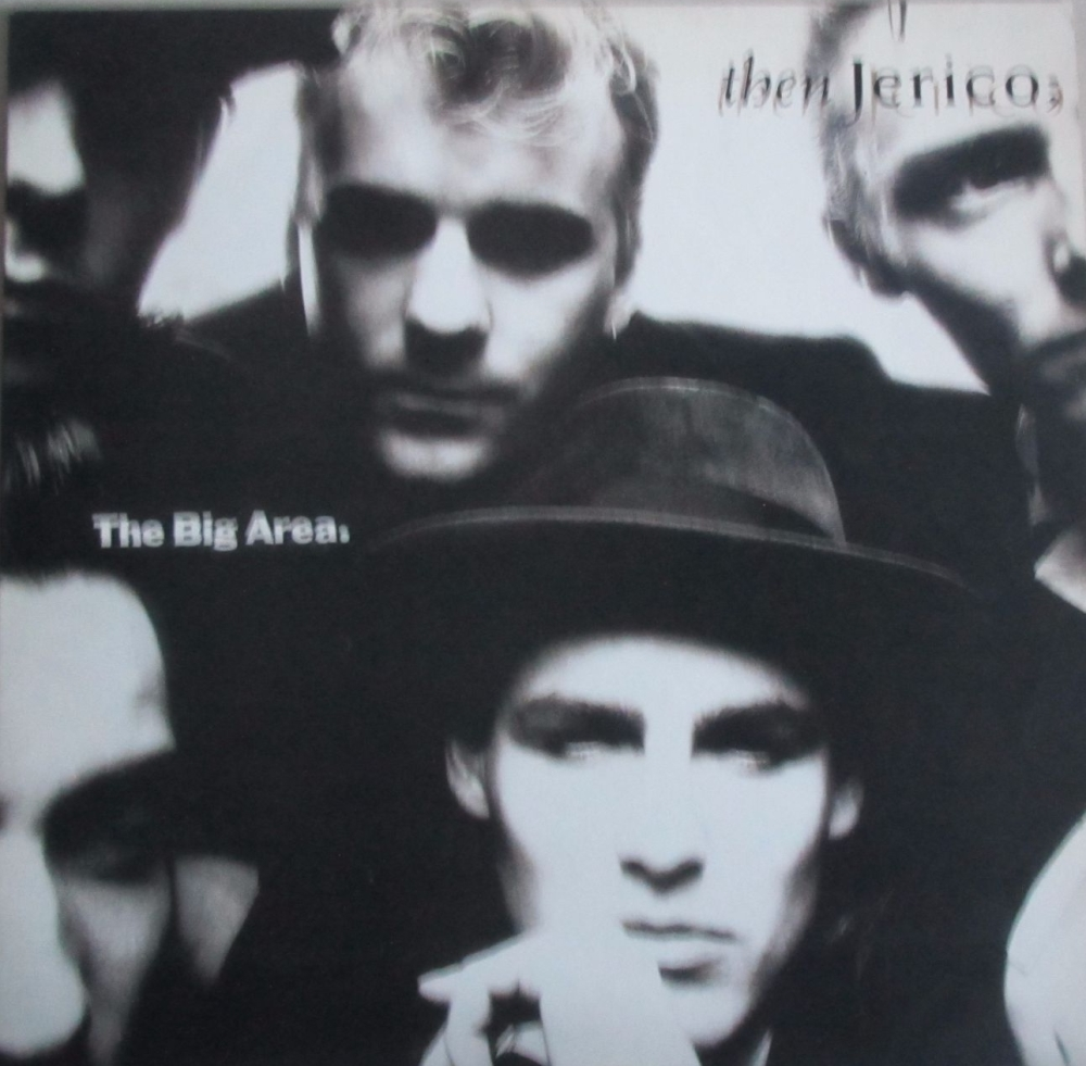 Then Jerico        The Big Area     1989 Vinyl LP   Pre-Used