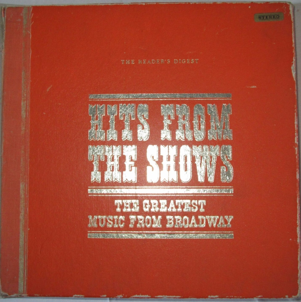 Various Artists       Hits From The Shows      1964  Ten Vinyl LP Box Set
