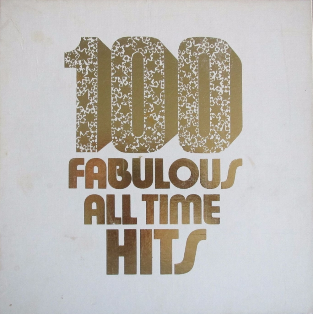 Various Artists      100 Fabulous All Time Hits        Six Vinyl LP Box Set
