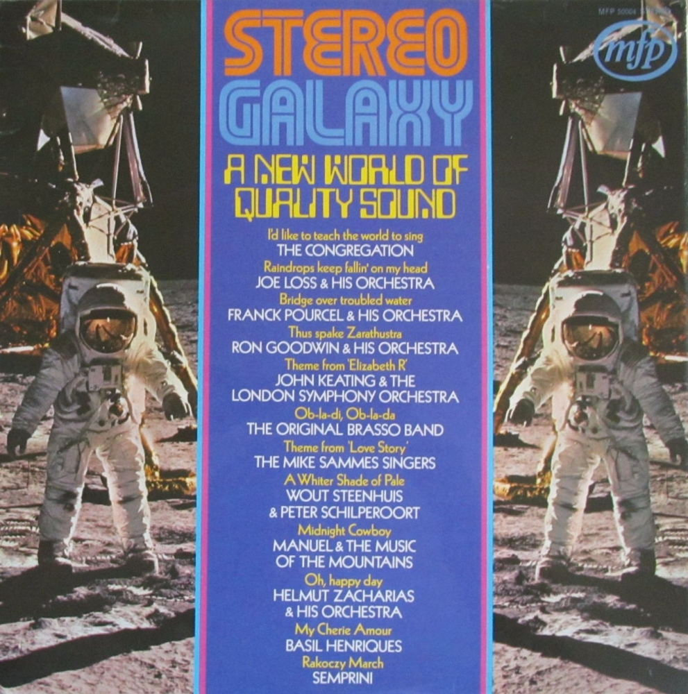 Various Artists    Stereo Galaxy A New World Of Quality Sound  Vinyl LP Pre