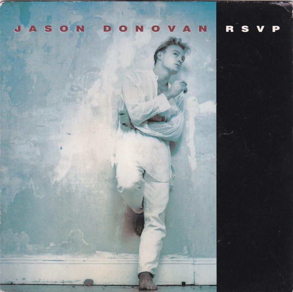 Jason Donovan          RSVP  1991  Vinyl 7