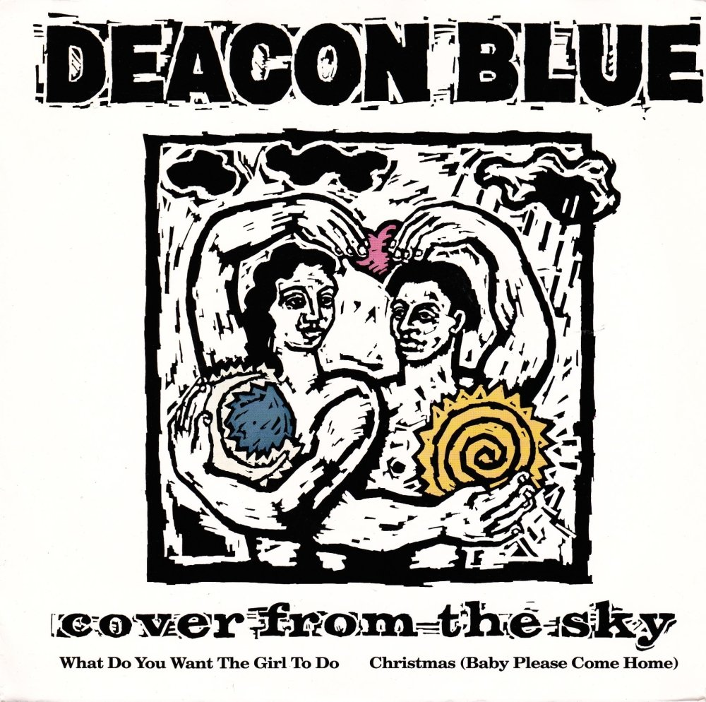 Deacon Blue        Cover From The Sky     1991 Vinyl 7