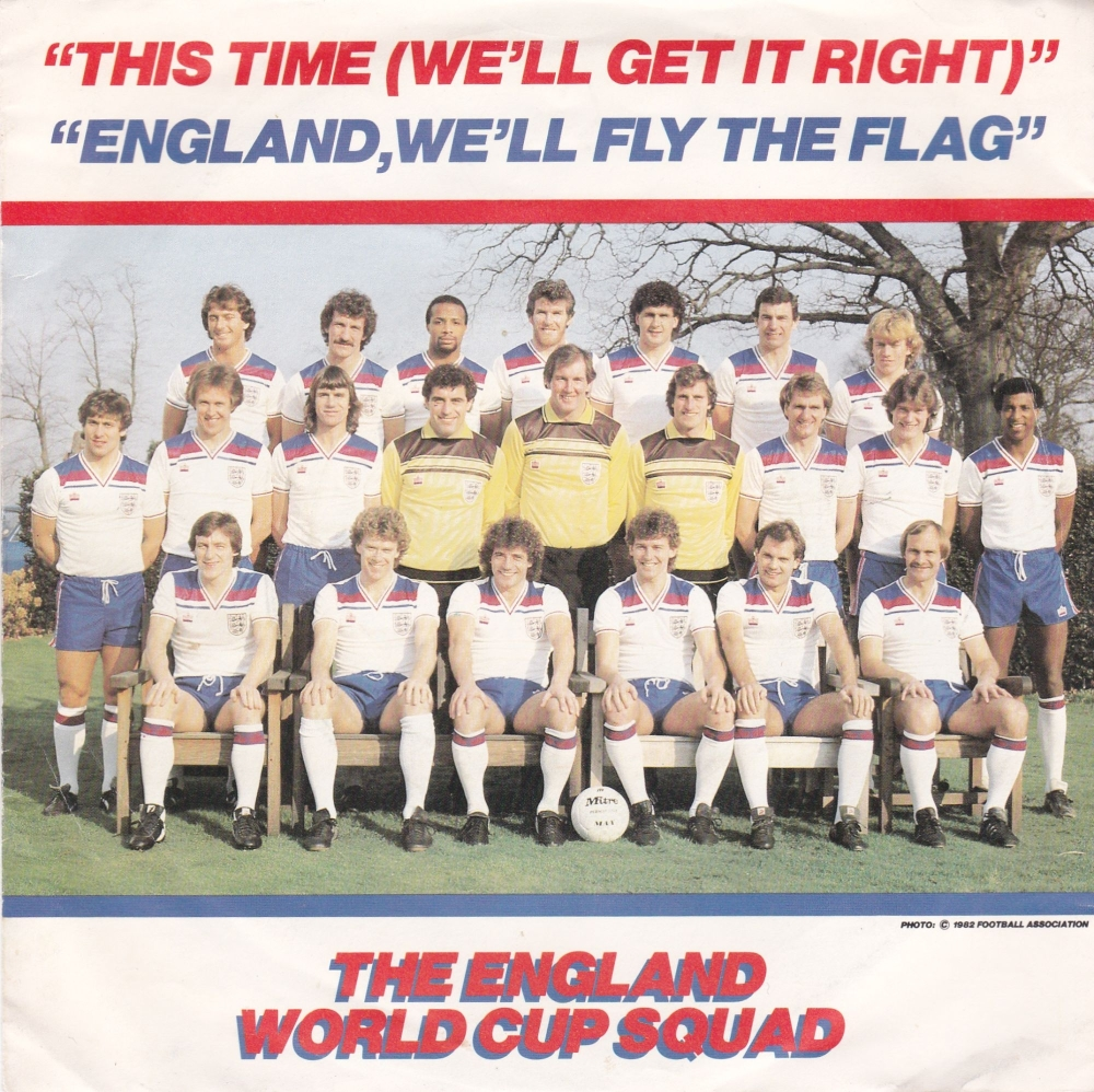 The England World Cup Squad      This Time ( We'll Get It Right)     1982 V