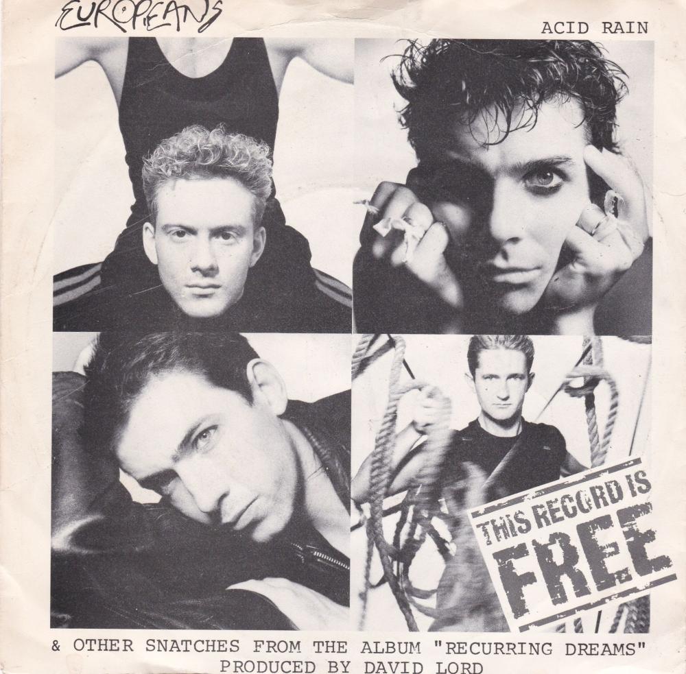 Europeans         Acid Rain        1984 Vinyl 7