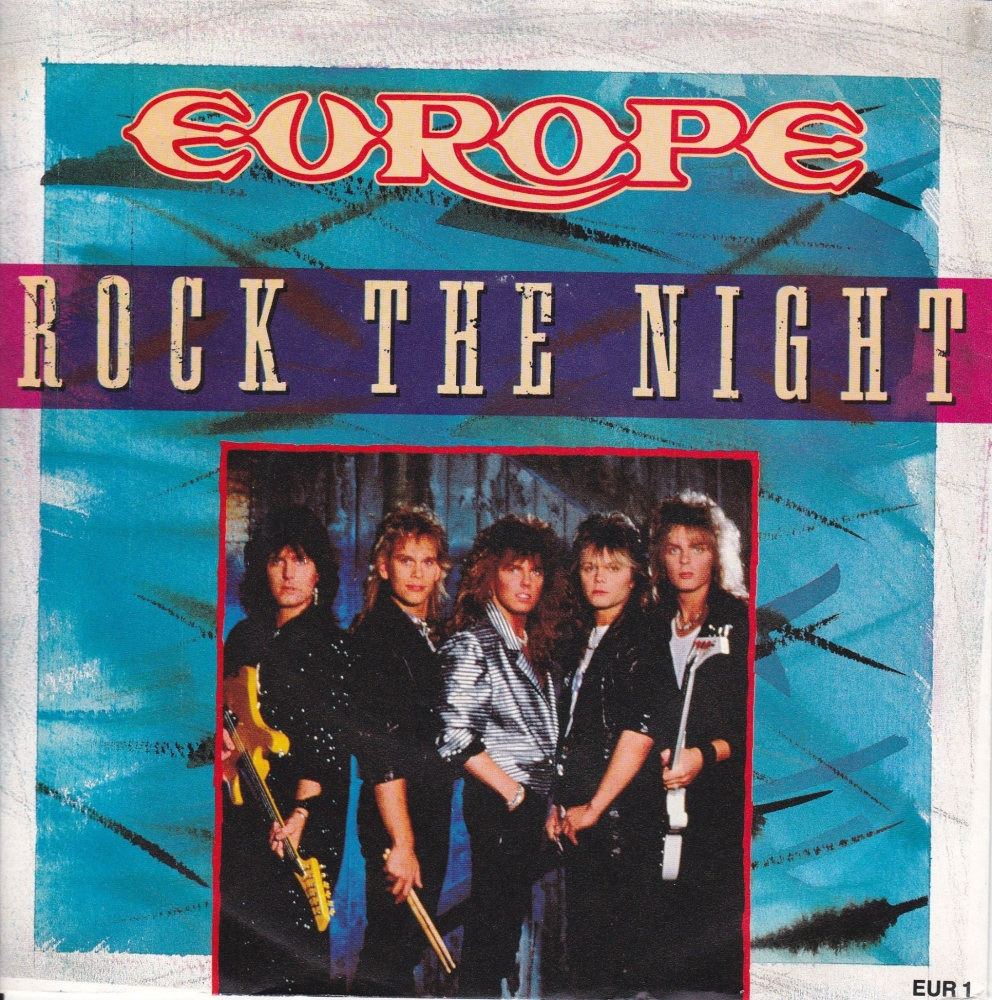 Europe       Rock The Night      1986 Vinyl 7