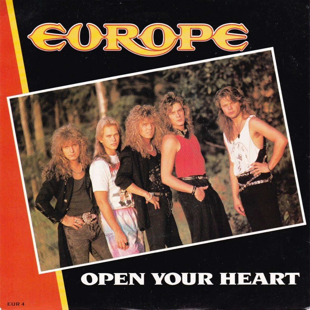 Europe         Open Your Heart        1988 Vinyl 7